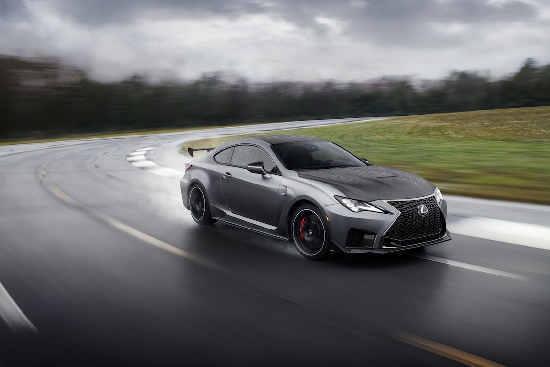 Lexus' Newest Offering Ready for Road or Track