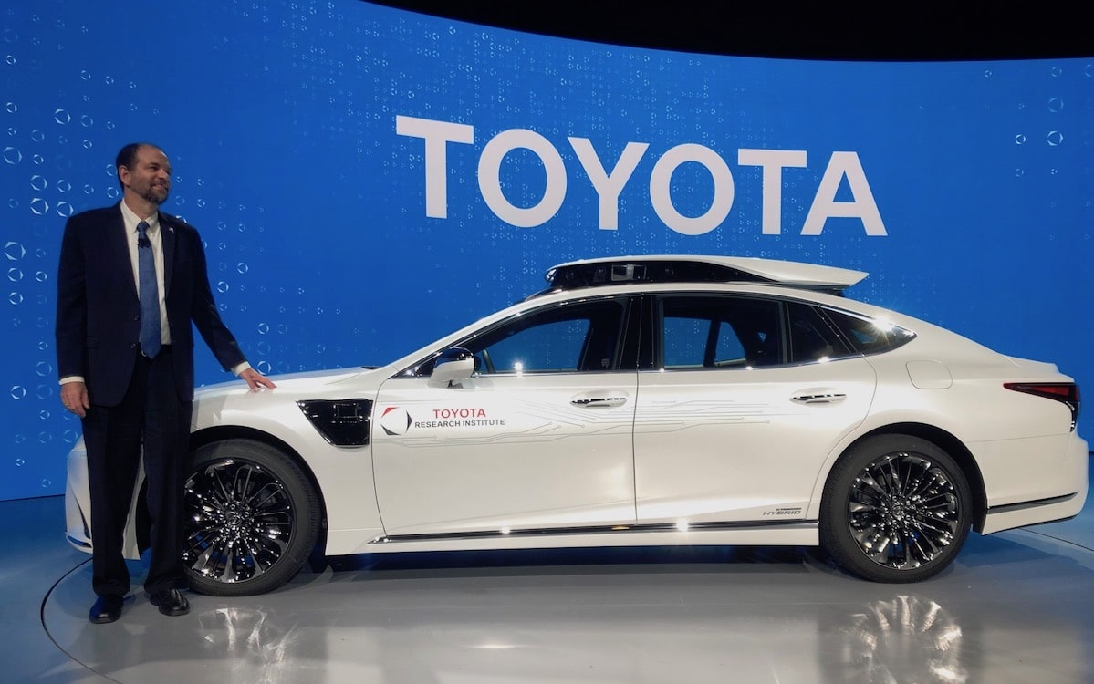 Toyota Wants to Share Potentially Breakthrough Safety Technology