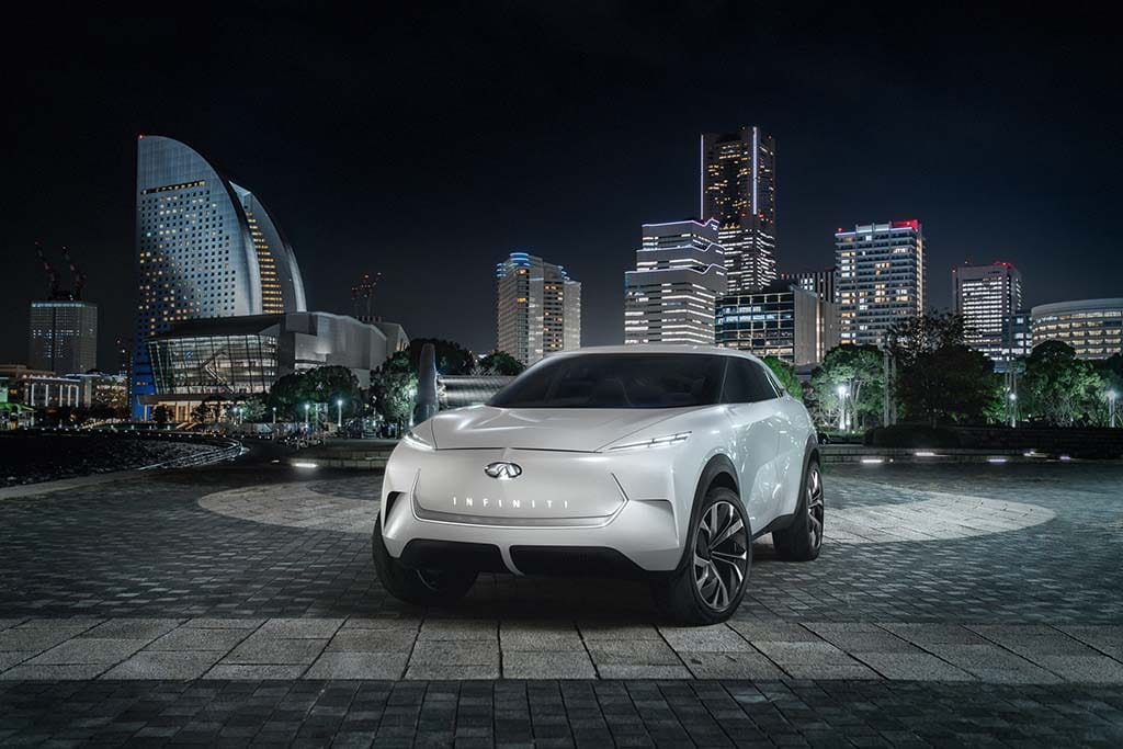 Infiniti Aims to Electrify With QX Inspiration Concept