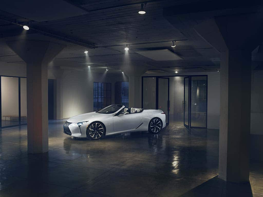 lexus to debut lc convertible concept in detroit