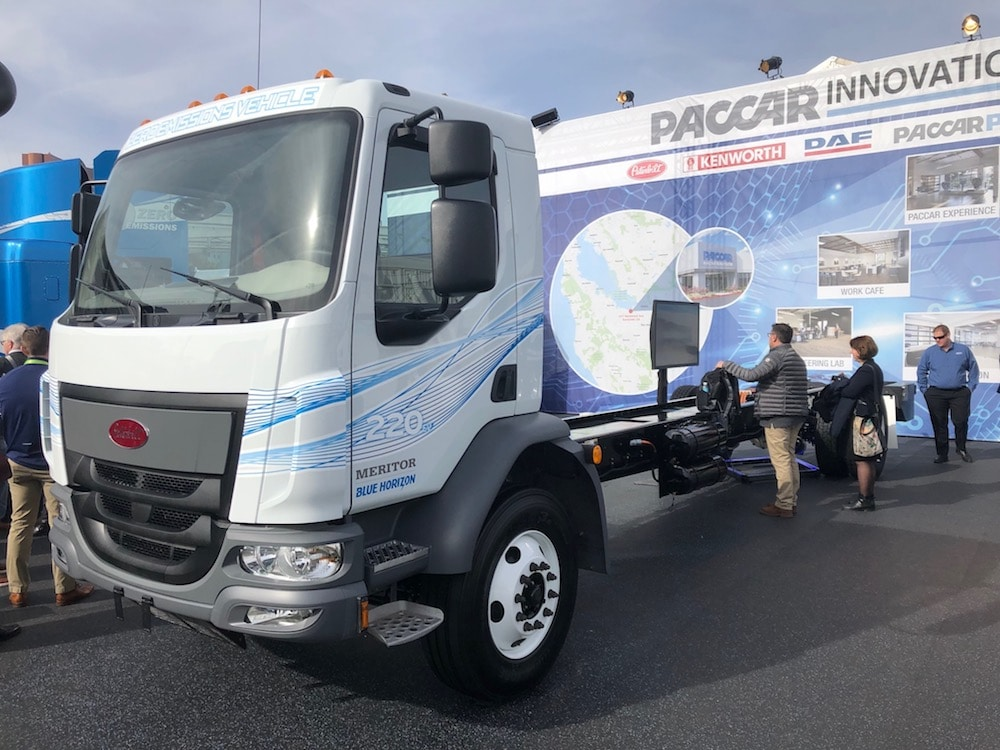 Toyota Teaming Up With Paccar to Build a Test Fleet of Clean Hydrogen Semis