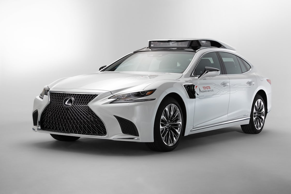 Toyota Introducing New Automated Test Vehicle in Las Vegas