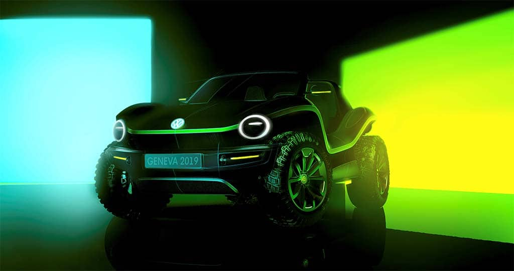 VW Plugs In With New Dune Buggy Concept