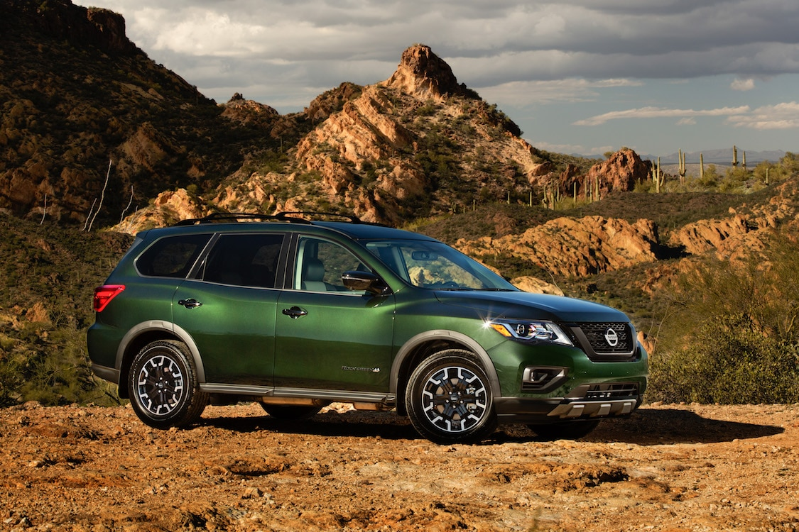 American Auto Sales Little Rock: Nissan Tweaks Pathfinder With New Rock Creek Package