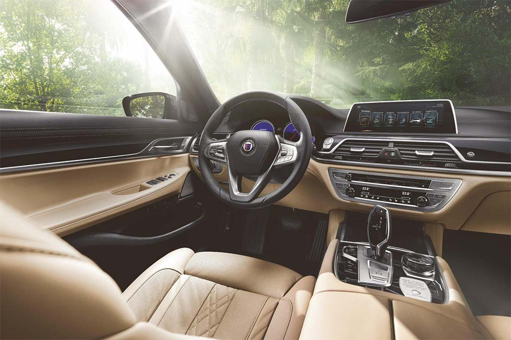 BMW M7 Price >> Want a 205 mph BMW 7-Series? Here Comes the New Alpina B7 ...