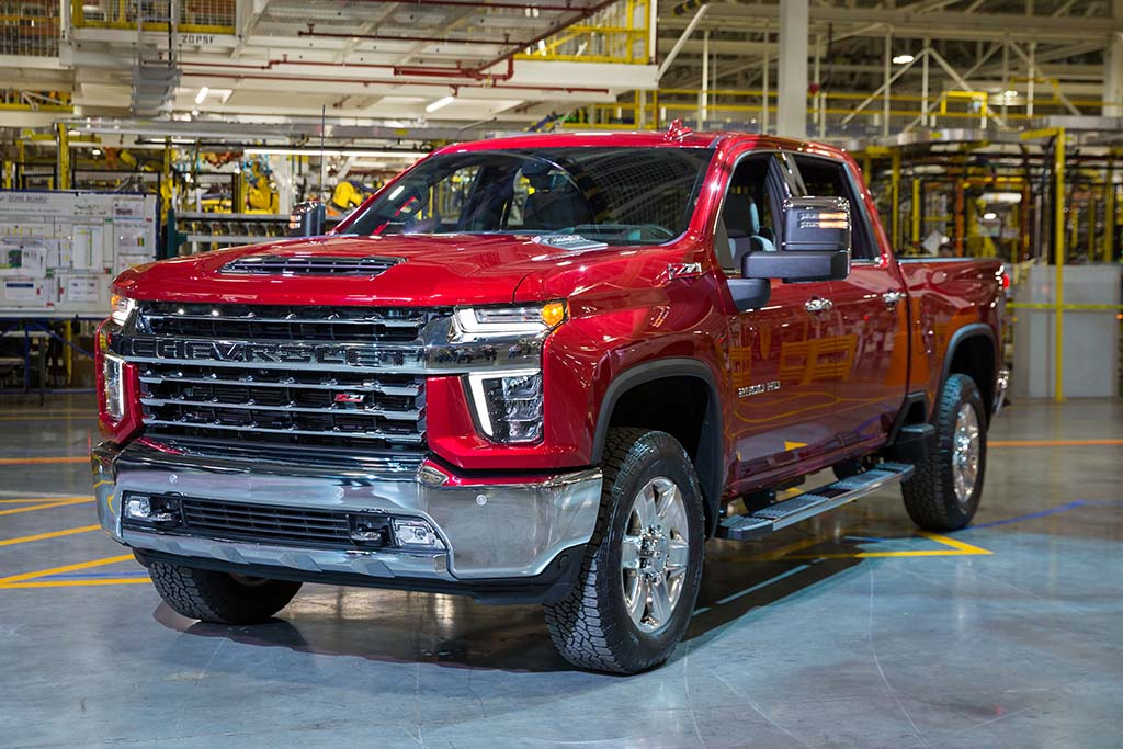 First Look 2020 Chevrolet Silverado Hd Thedetroitbureau Com
