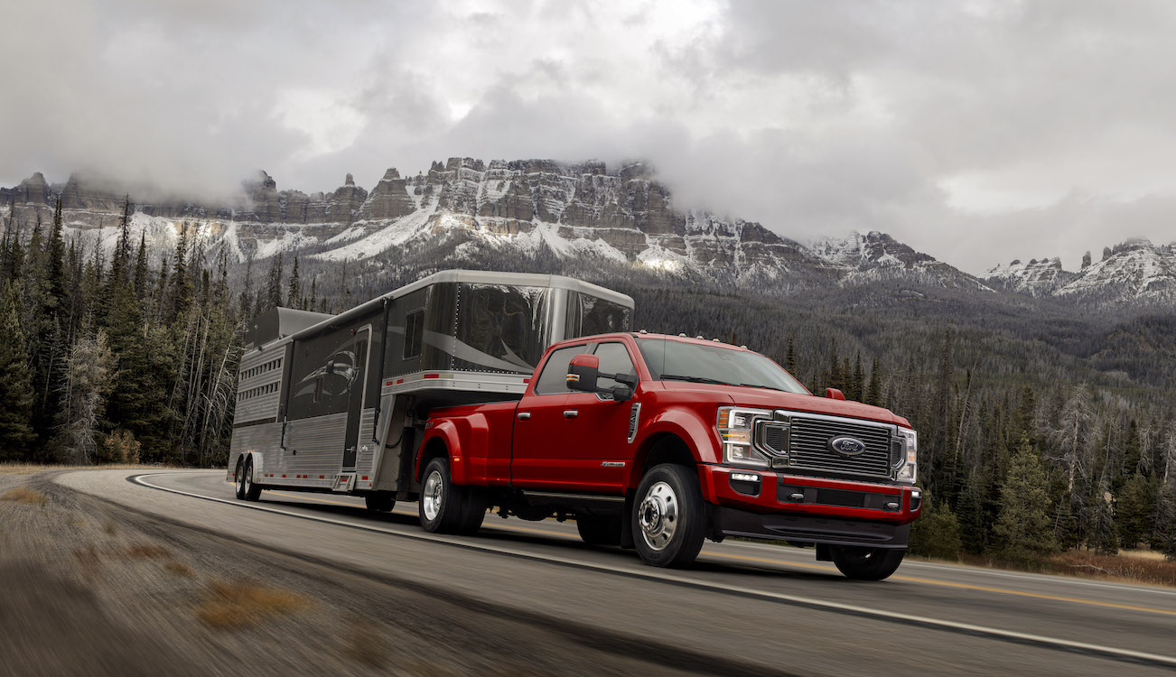 ford unveils  heavy duty pickup truck thedetroitbureaucom