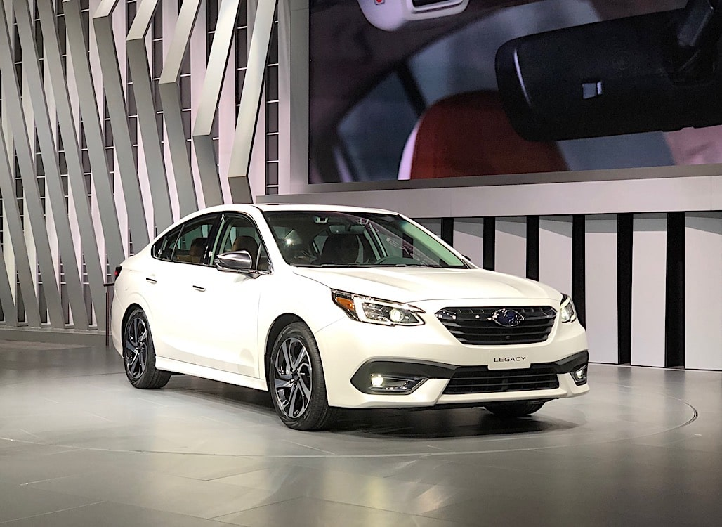 Subaru Storms Chicago with All-New Legacy Line