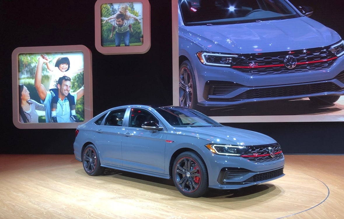 Volkswagen Group Latest Models >> Volkswagen Ups the Ante with 2019 GLI Sedan ...