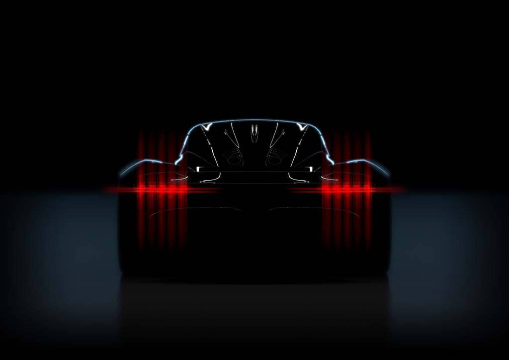 Aston Teases Project 003 Hypercar Ahead of Geneva
