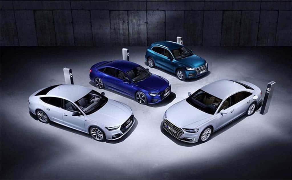 Audi Adding Four New PHEVs in Geneva