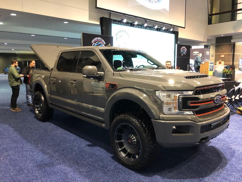 Ford, Harley Reconnect for New Harley-Davidson F-150 ...