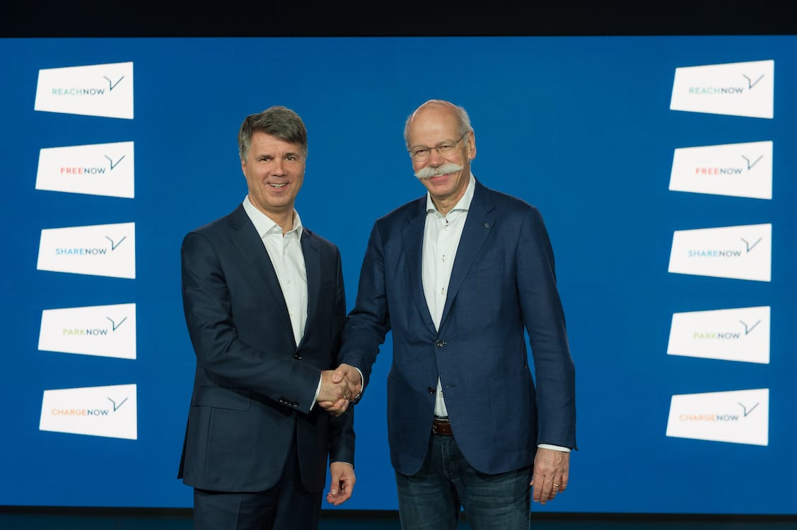 BMW, Daimler Launching New Ride-Sharing Service, Other Mobility Ventures