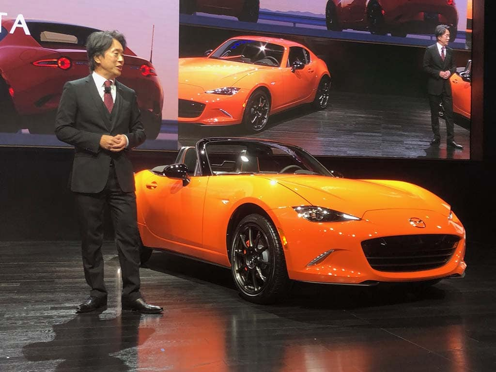 Mazda Marks Miata's 30th With Party, Special Edition