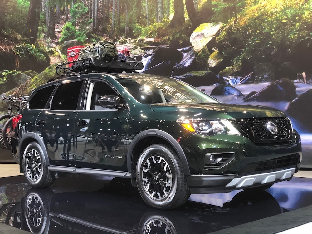 Nissan Tweaks Pathfinder with New Rock Creek Package