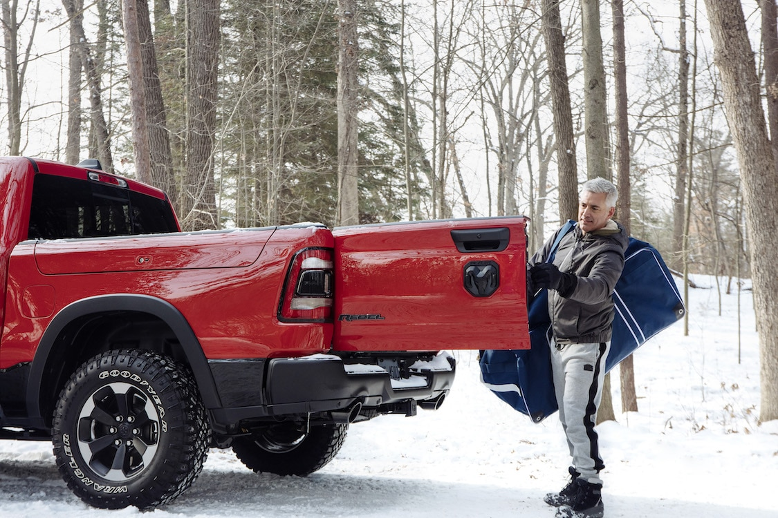 Ram Brings on Multifunction Tailgate for Pickups