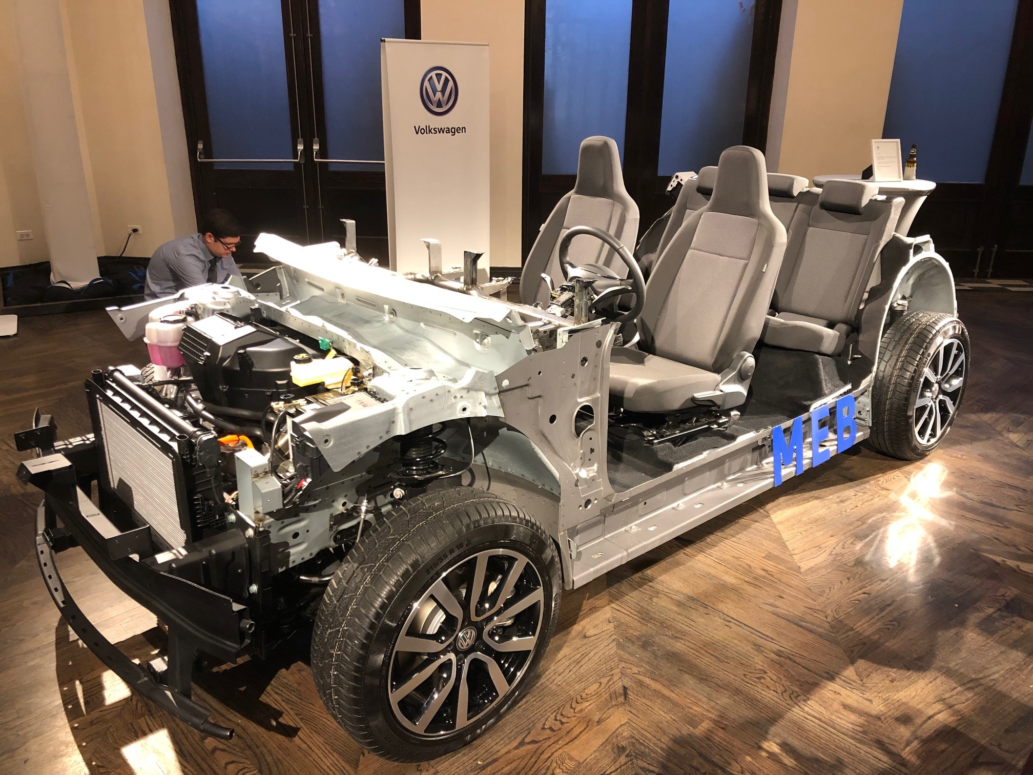 Plugging In An Inside Look At The Meb Vw S Platform For Electrified Future