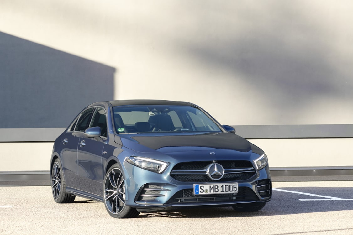 Mercedes Unveiling Four AMG Models in NY, Including New A 35 Sedan