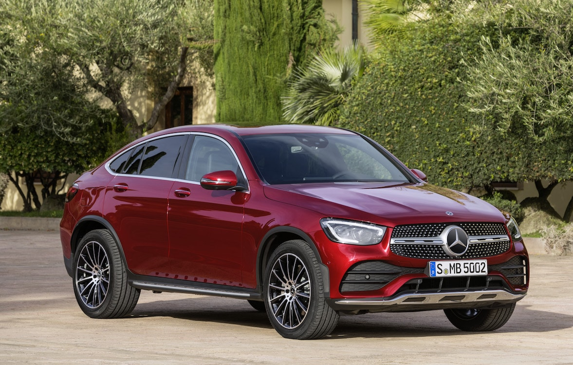 Mercedes-Benz Provides Early Look At New GLC Coupe