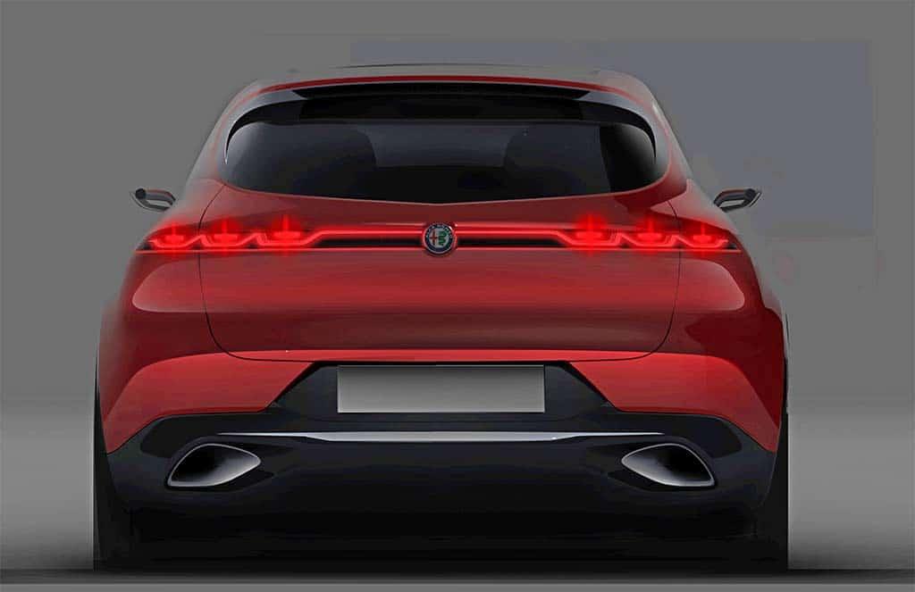 Alfa Romeo Tonale PHEV Concept - rear