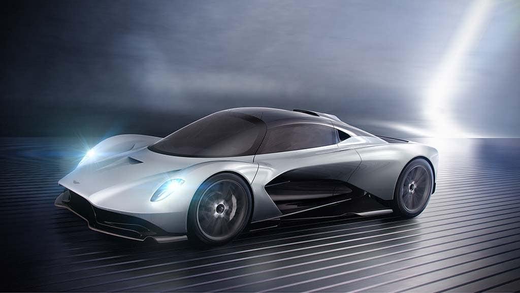 Aston Martin AM-RB 003 is a High-Tech, Hybrid Hypercar