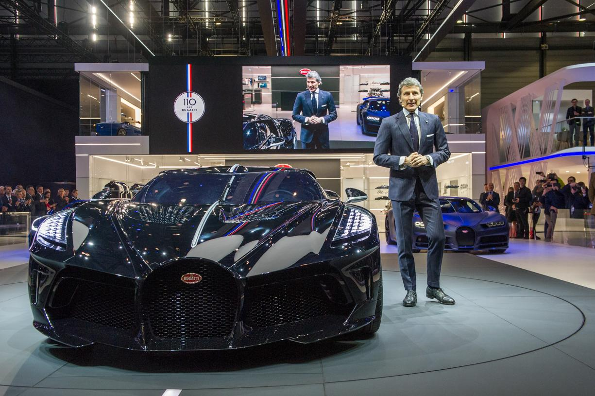 Bugatti Marks 110th Anniversary with $19M Hypercar
