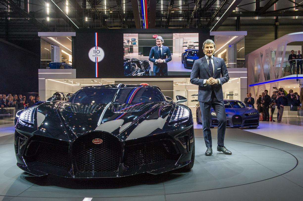 Bugatti Marks 110th Anniversary with $19M Hypercar