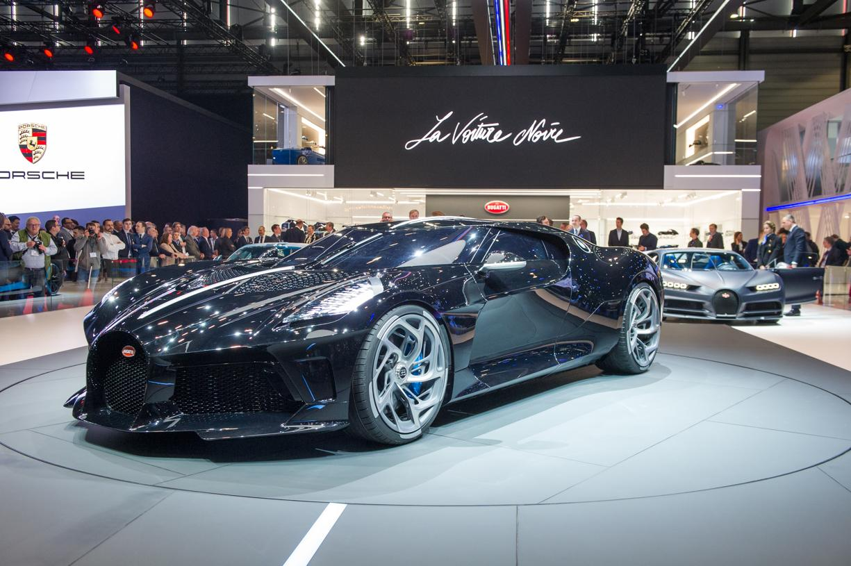 Just One Bugatti La Voiture Noire Exists And It S Priced: Bugatti Marks 110th Anniversary With $19M Hypercar
