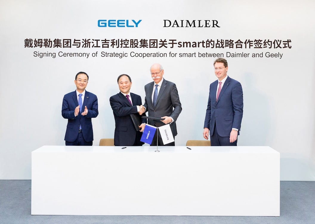 Geely Gets Smart with Daimler
