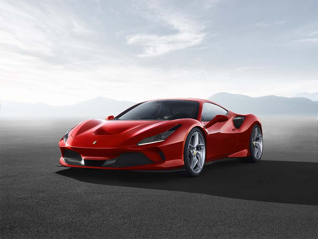 Ferrari Offers a V-8 Tribute with its F8 Tributo