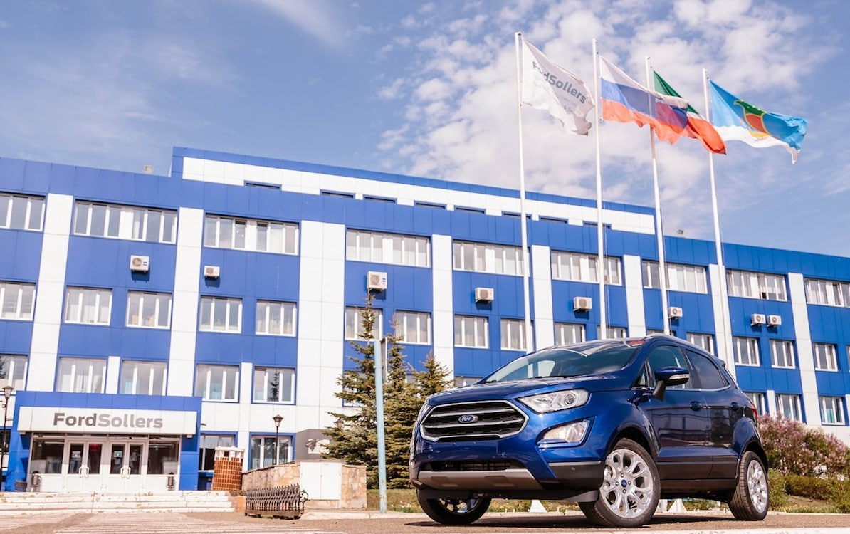 Ford Shutting Down Passenger Car Operations in Russia