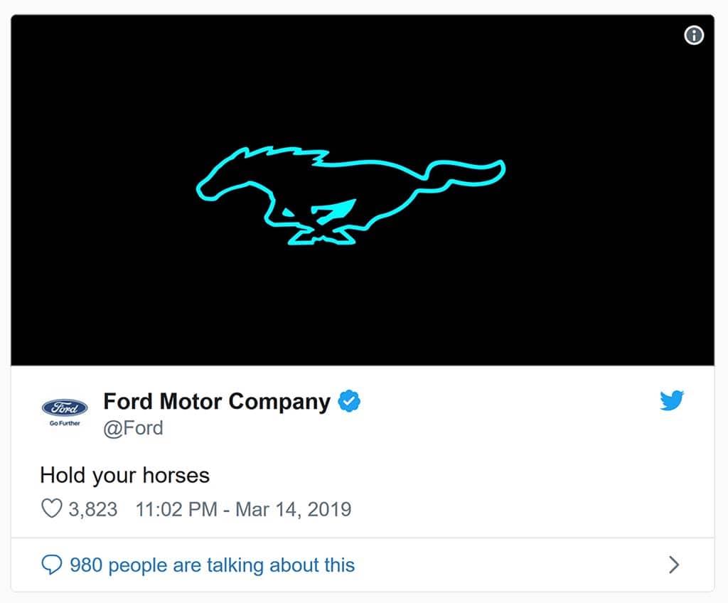 Mustang Electrified?