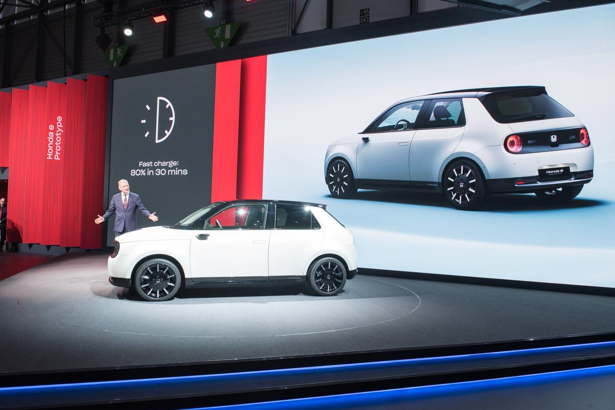 Honda Updates New E Prototype For Geneva