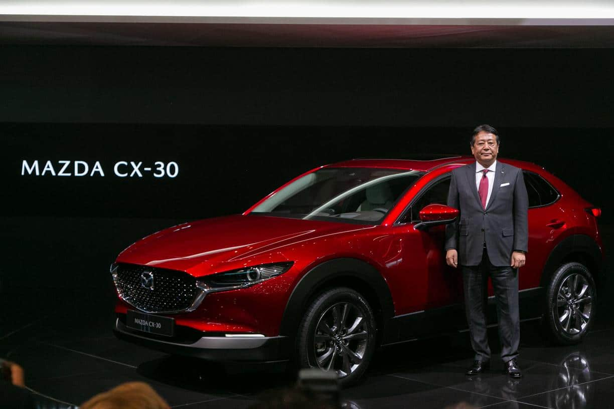 Mazda Takes Cover Off New Small Crossover