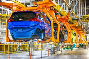 Chevy Bolt at Orion, Michigan plant