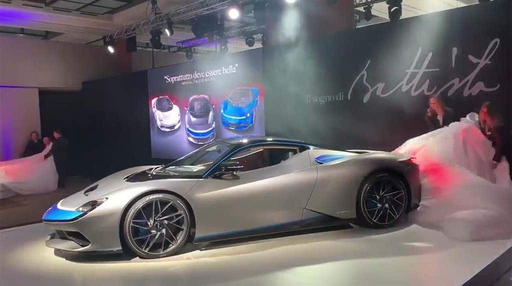 Pininfarina's Battista EV Quietly Punches Out 1,900 HP