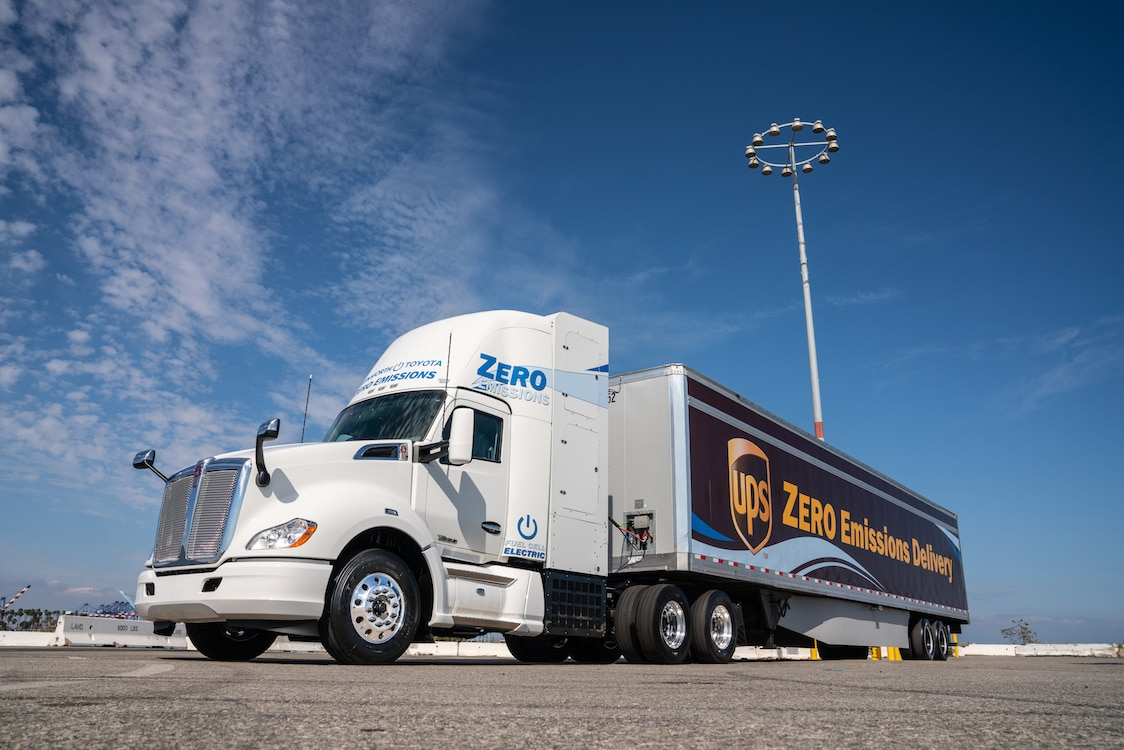 Toyota, Kenworth Expand Fuel Cell-Based Heavy Truck Fleet