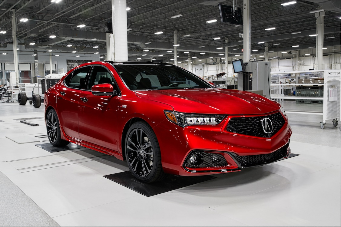 Acura Moving Upscale With New Handcrafted TLX