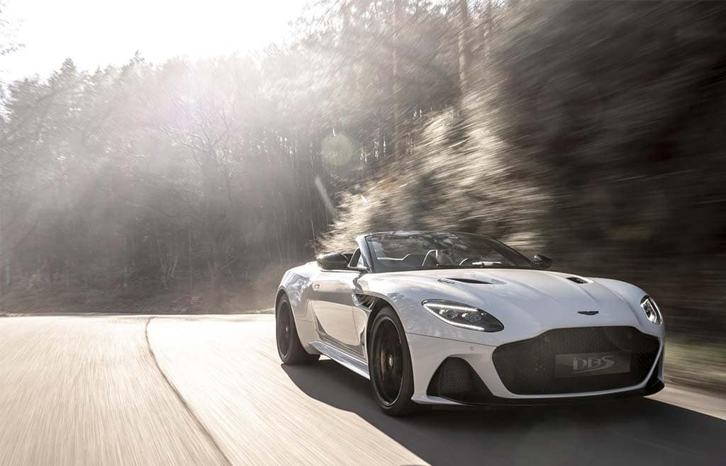 Aston Adds Drop-Top Volante to DBS Superleggera Line