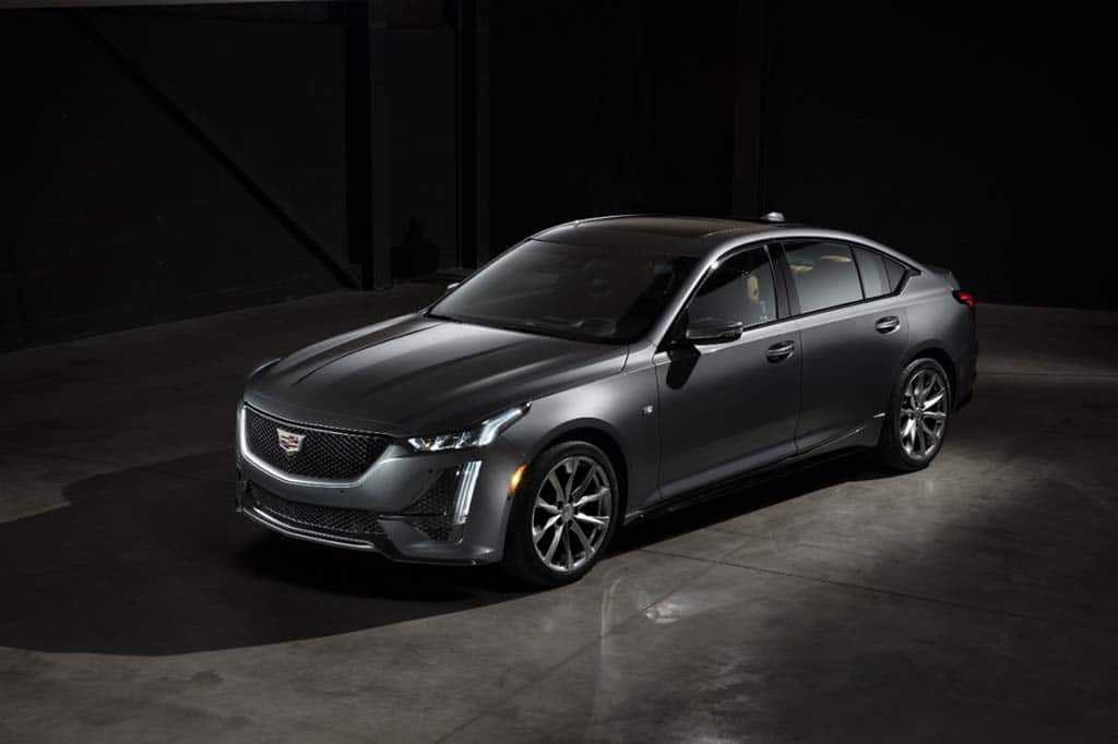 Cadillac Lifts Covers on New CT5 Sedan | TheDetroitBureau com