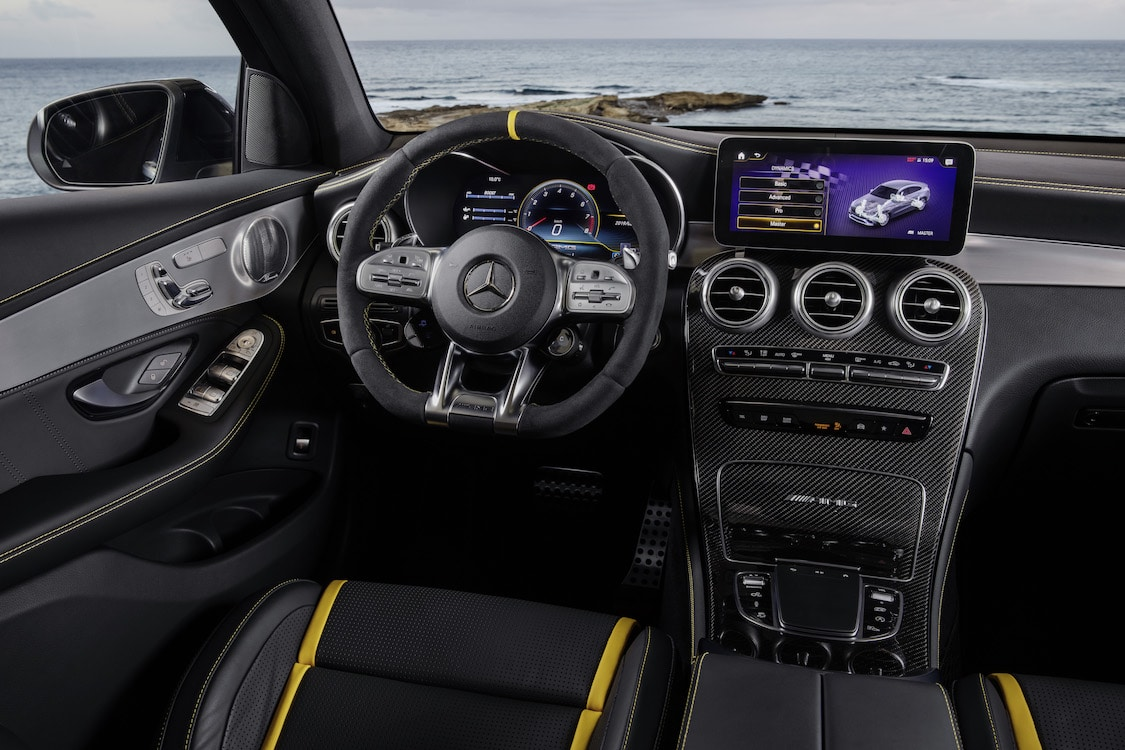 Mercedes Hops up Small Ute Performance with AMG GLC 63 | TheDetroitBureau.com