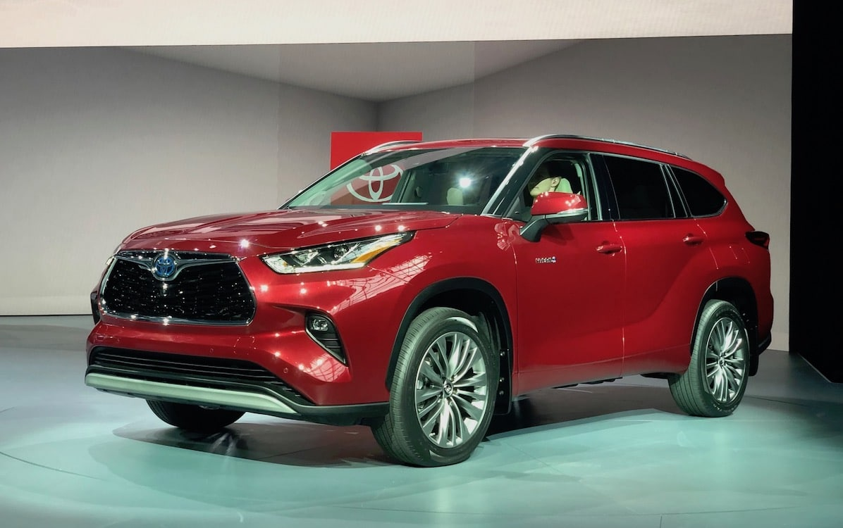 Toyota Rolls Out New And Improved Highlander For 2020