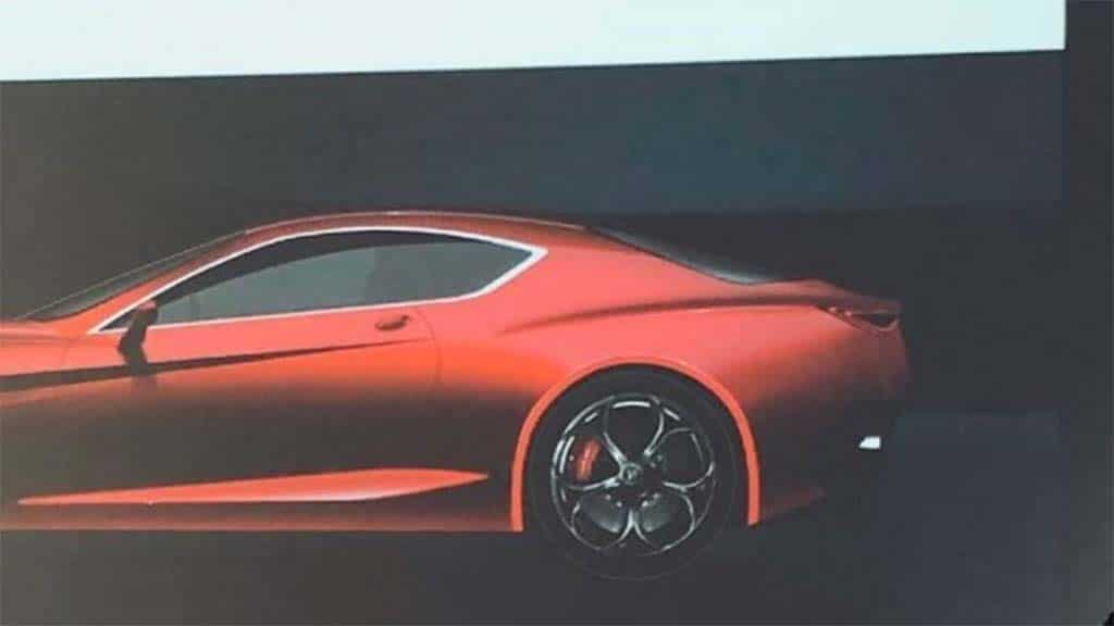 Image of Alfa Romeo's 600hp GTV Coupe Leaks Out