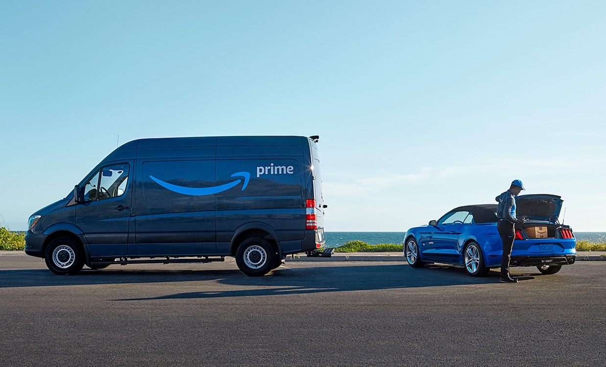 Amazon Prime Delivering Right to Ford, Lincoln Vehicles