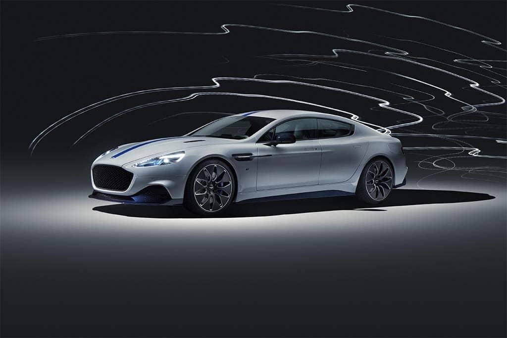 Aston Martin's Long-Awaited EV, the Rapide E Rolls Into Shanghai