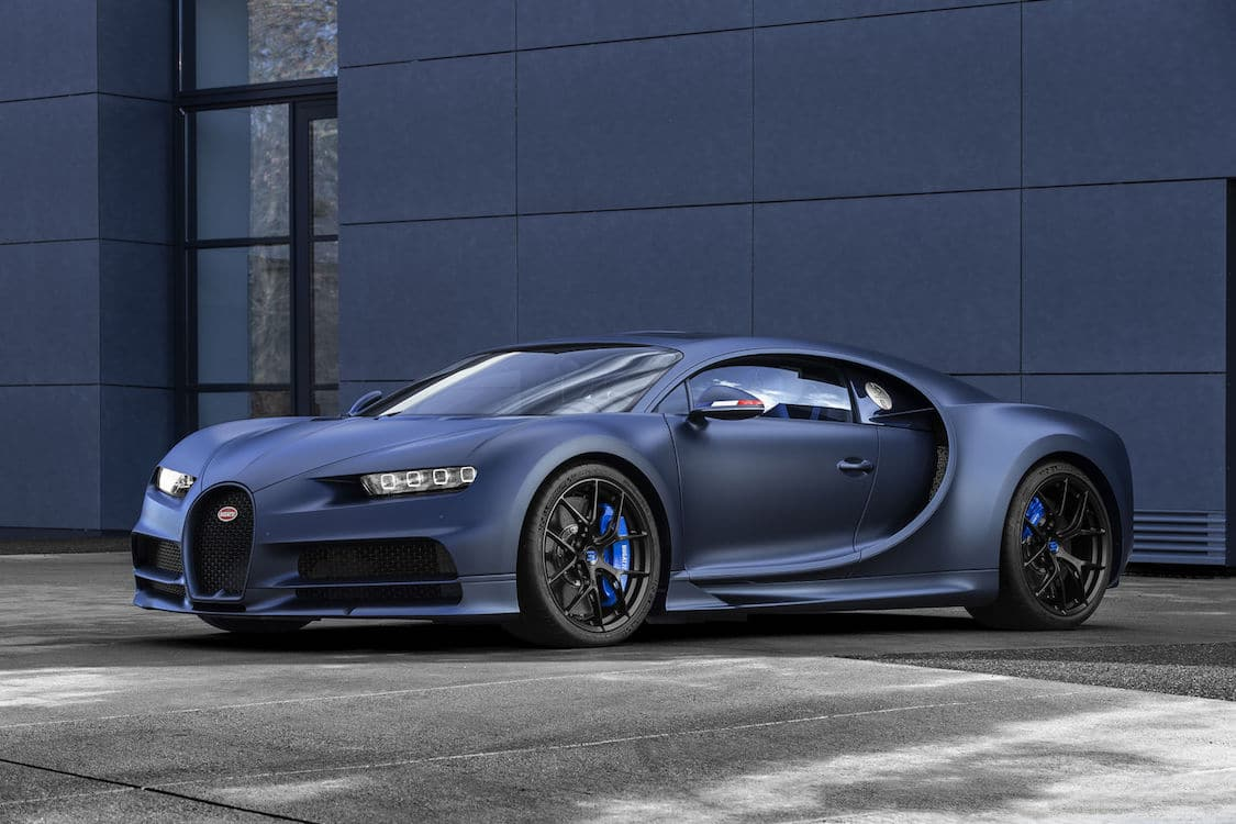 "Bugatti Commemorates 110 Years with Chiron Sport ""ans 110 Bugatti"""
