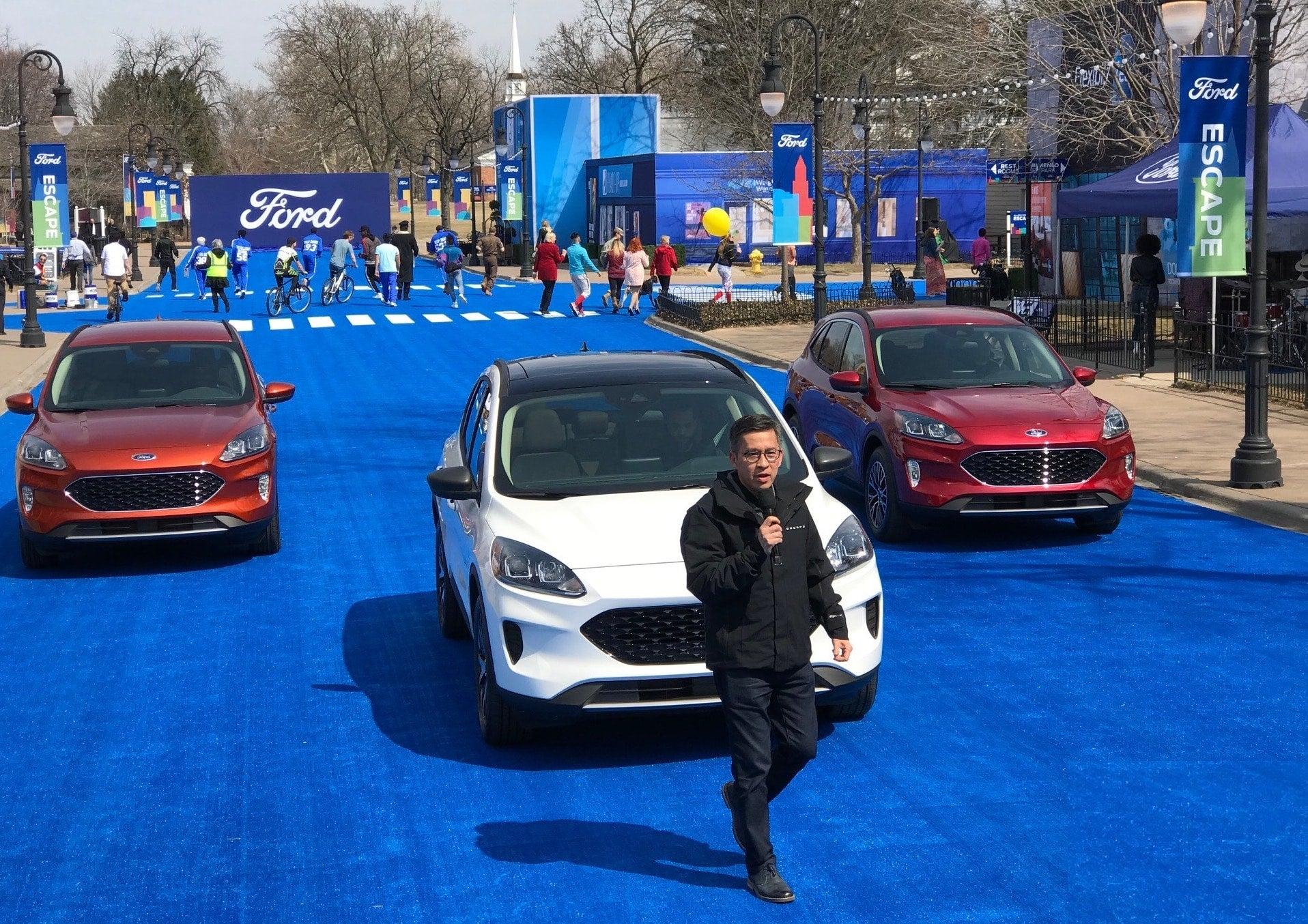Ford Unveils 2020 Escape