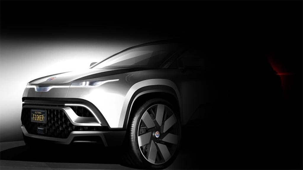 Fisker Teases All-Electric CUV, Hires Manufacturing Vet