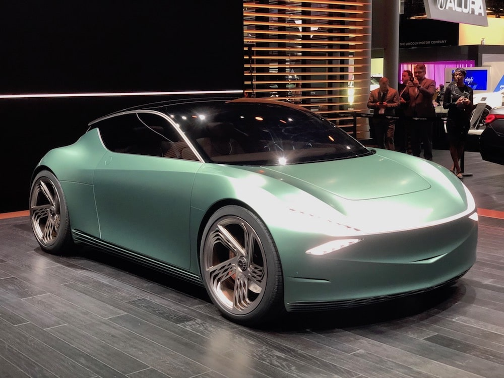 Genesis Goes Urban With Mint Battery-Car