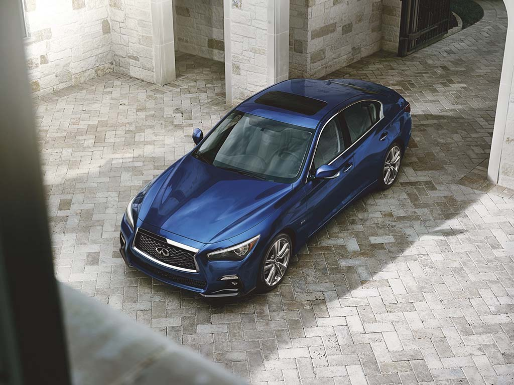 Infiniti Q50 Signature Edition Bound for NYIAS